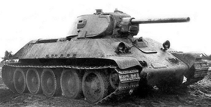 Т-34 ранних лет выпуска