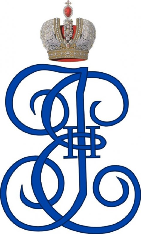 Вензель Екатерины II
