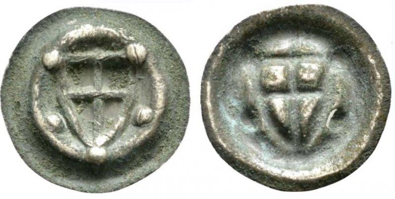 Малый пфенниг, 1300-1350 гг.