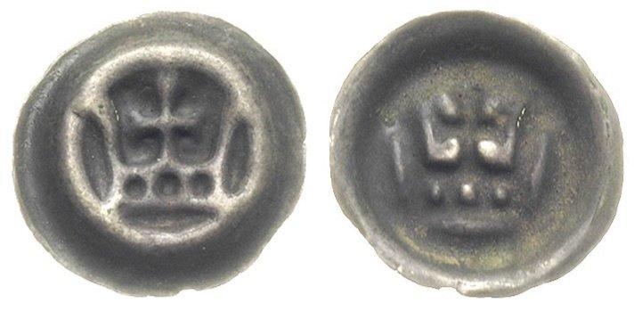 Малый пфенниг, 1337-1345 гг.