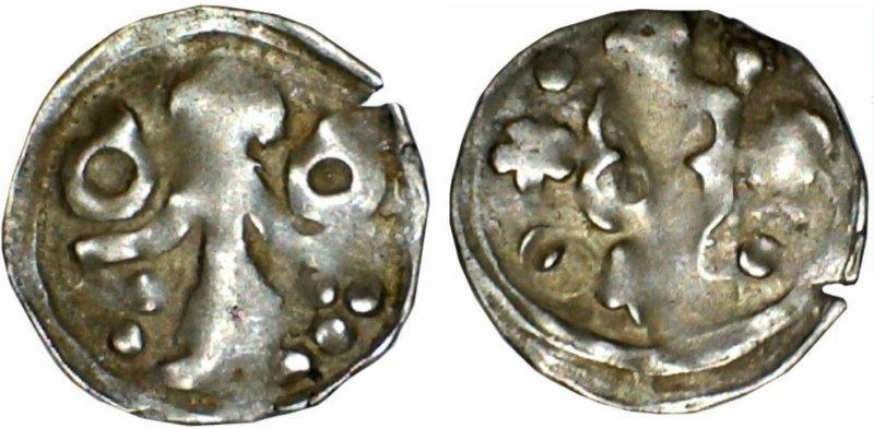 Большой пфенниг, 1351-1365 гг.