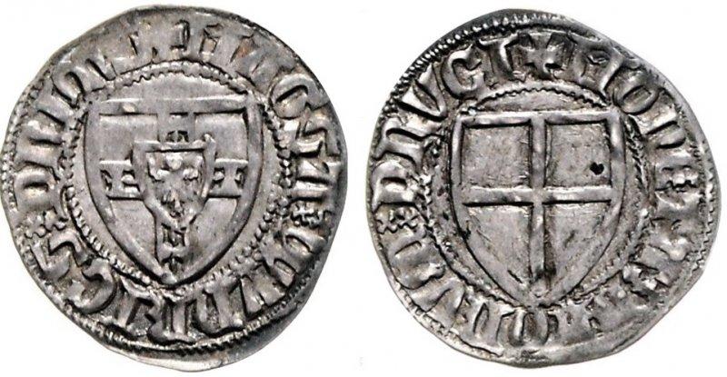 Шиллинг, 1351-1382 гг.