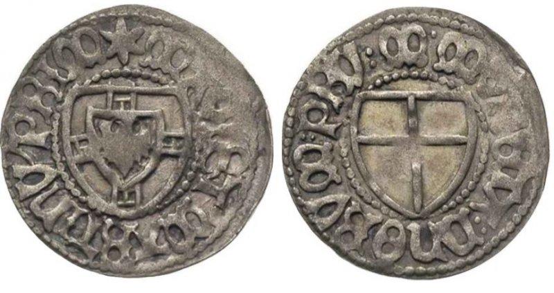 Шиллинг, 1477-1489 гг.