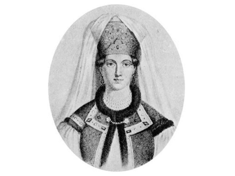 Великая княгиня Елена Васильевна Глинская