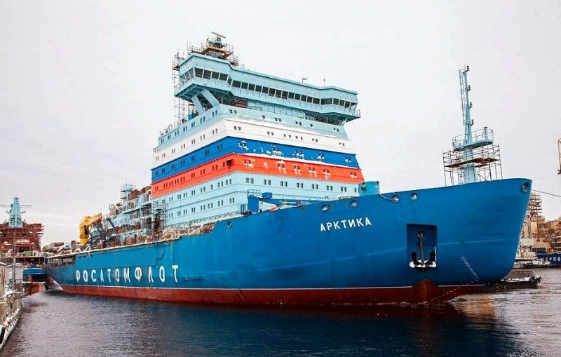 Ледокол «Арктика» проекта 22220 разработки 2012 года