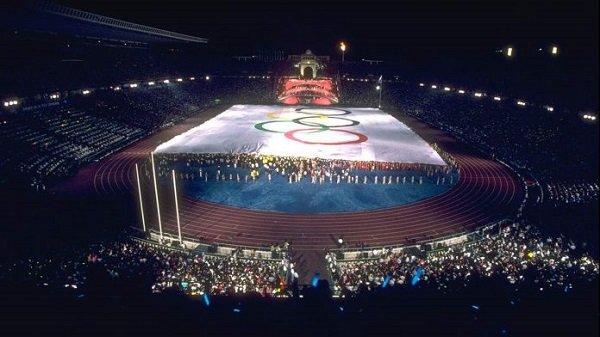 Олимпийский стадион имени Льюиса Компаниса, где происходили церемонии открытия и закрытия Олимпийских Игр