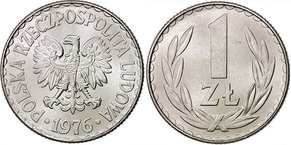 1 злотый 1957-1985 гг.