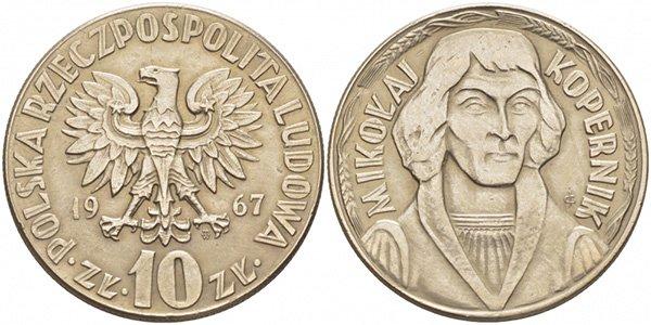 10 злотых, Коперник