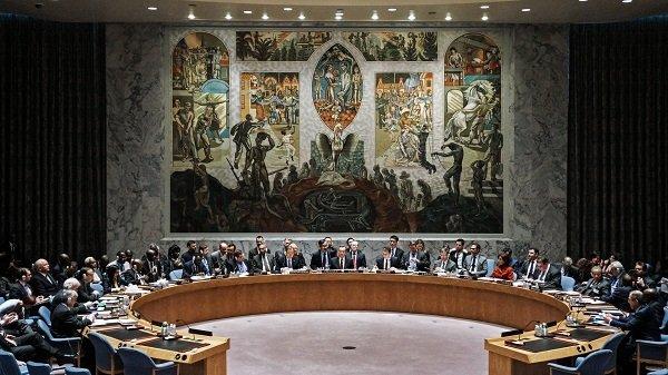 Идет заседание Совета Безопасности ООН
