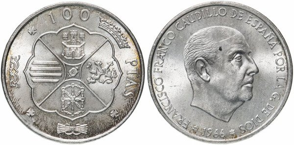 Серебряные 100 песет