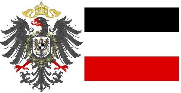 Герб и флаг Германской империи
