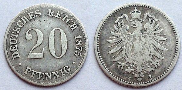20 пфеннигов (серебро)