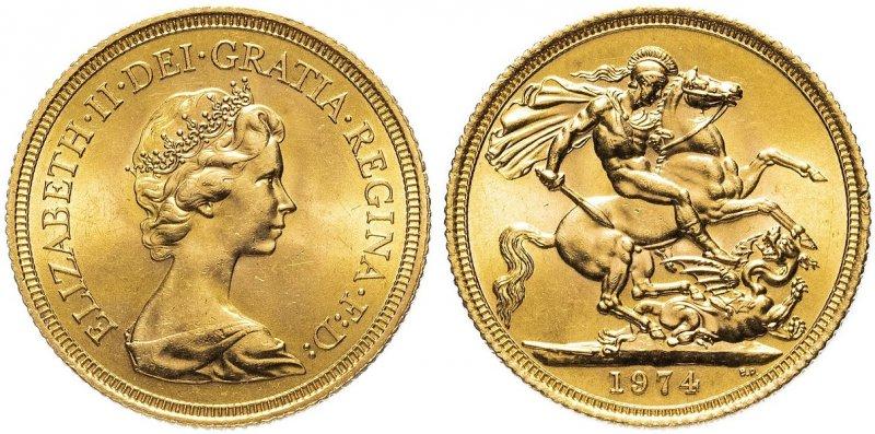 Соверен Елизаветы II