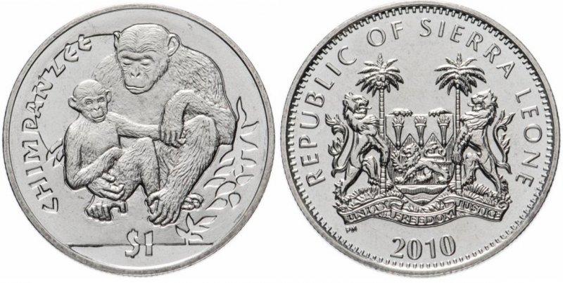 1 доллар, Сьерра-Леоне