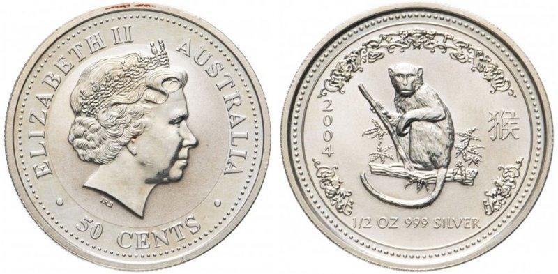 50 центов 2004 года (обычное исполнение)