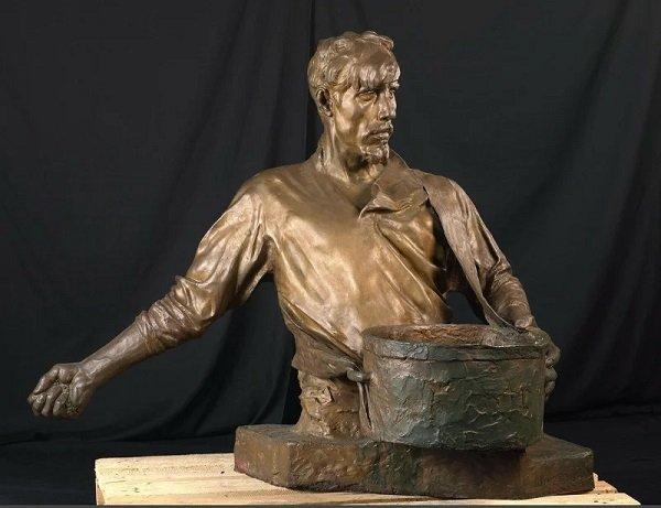 Скульптура «Сеятель». Художник Иван Шадр. 1922 год