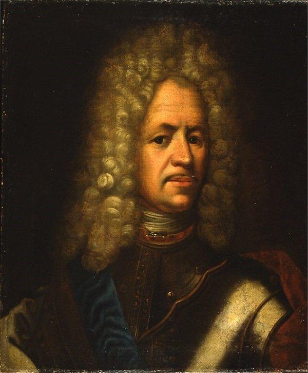 Светлейший князь А.Д. Меншиков. Неизвестный художник 1710 - 1720-е гг.