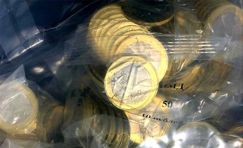 Упаковка монетного двора