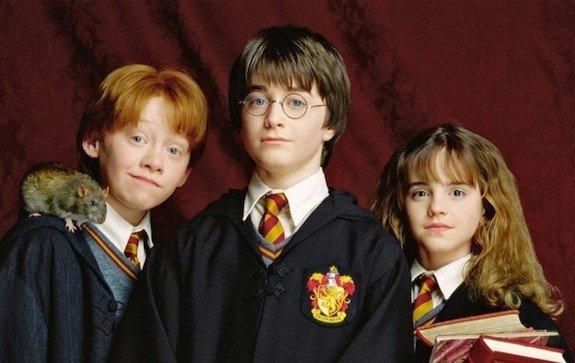 Гарри Поттер, Гермиона Грейнджер, Рон Уизли...
