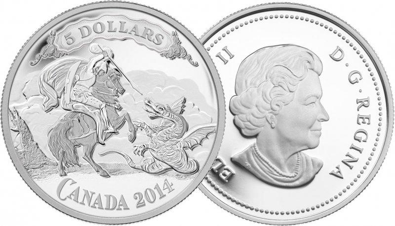 Подпись к фото: Пять долларов (Канада, 2014)