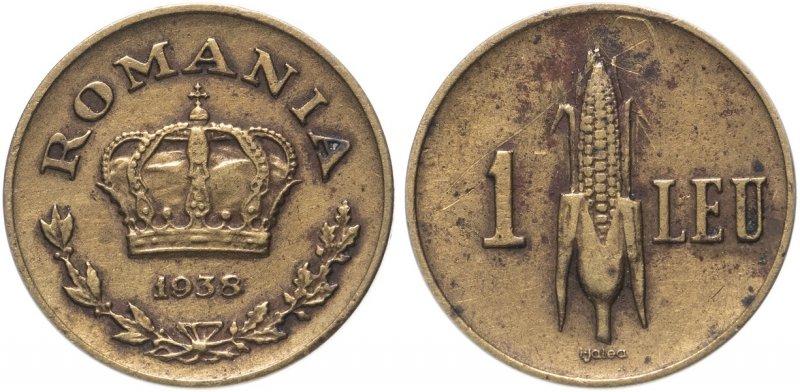 1 лей Румынии (1938)