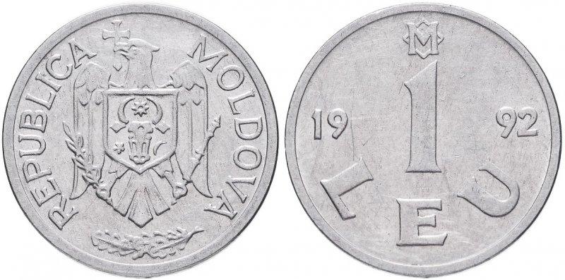 1 лей Молдавии (1992)
