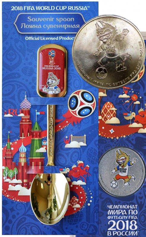 Сувениры и монеты с символикой чемпионата