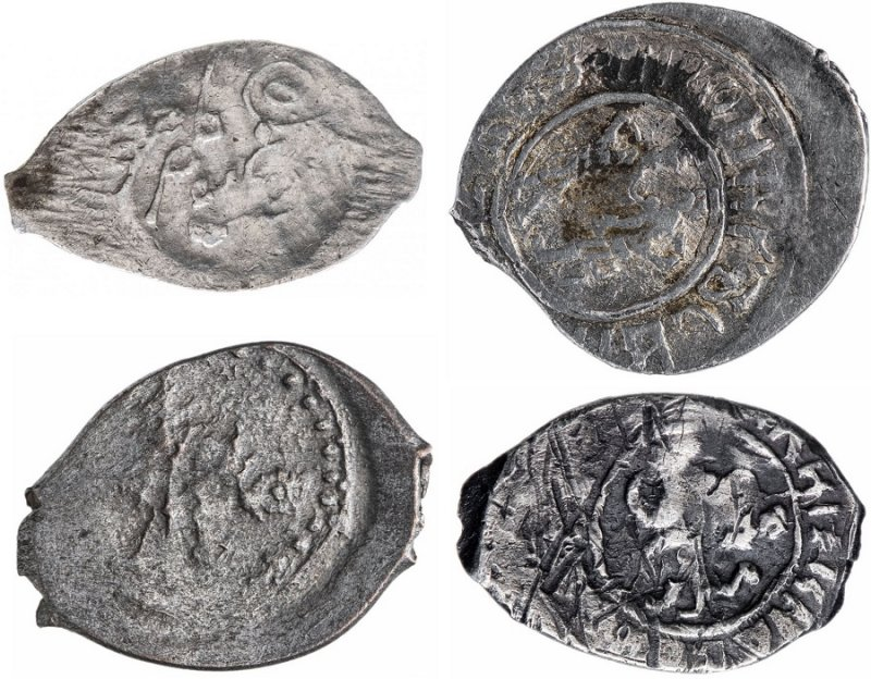 Монеты «чешуйки» русских княжеств XIV-XVI вв.