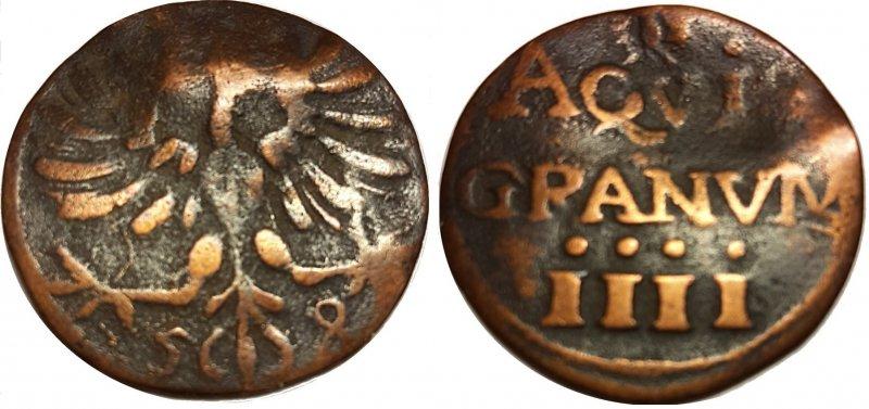 Четыре геллера (1656-1658)