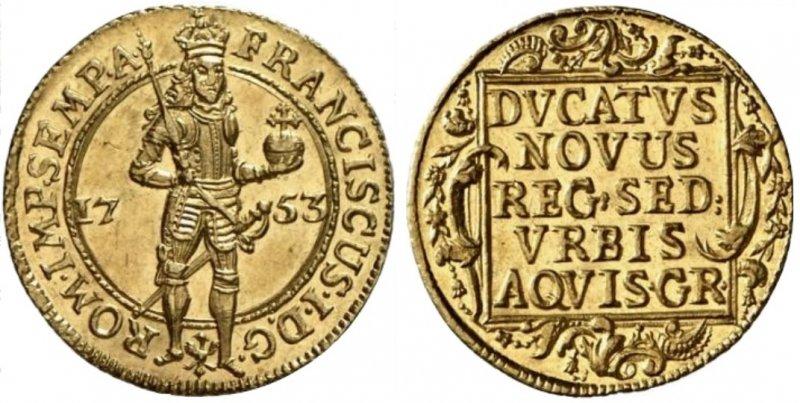 Дукат 1753 года