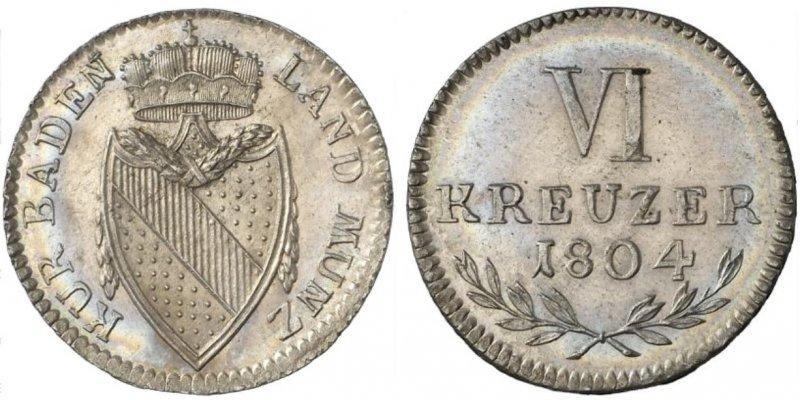 Шесть крейцеров (1804)
