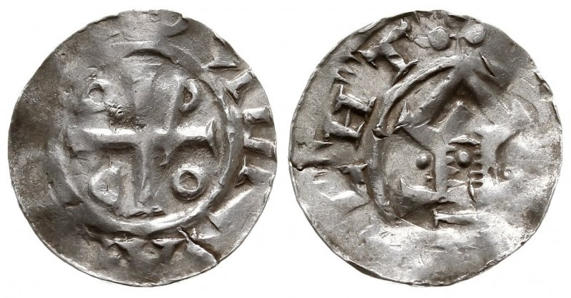 Денарий Оттона III около (996-1002)