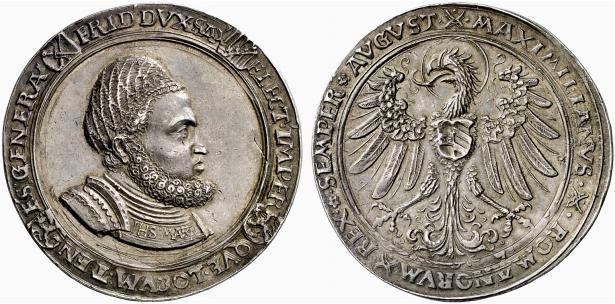 Два гульденгрошена Фридриха III (1507)