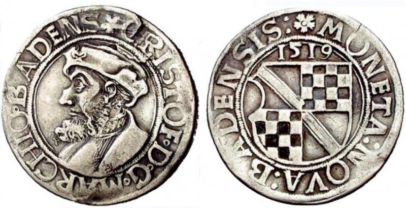 Диккен из Бадена (1519)