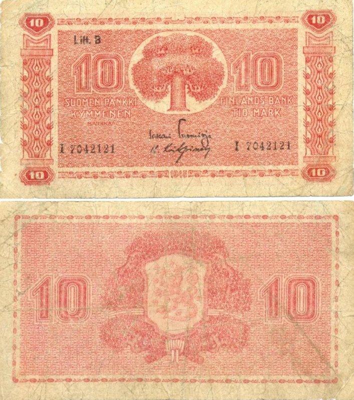 10 марок 1948