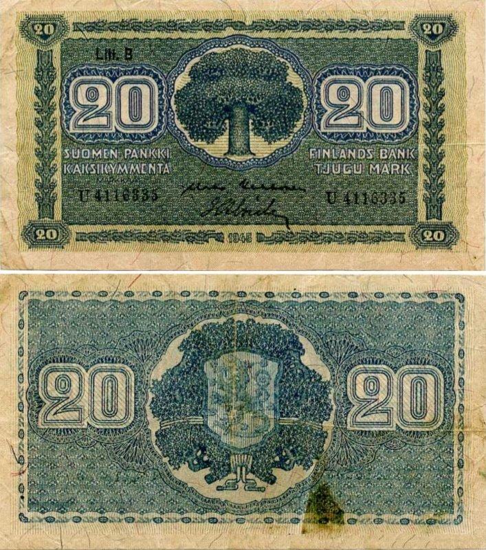 20 марок 1948