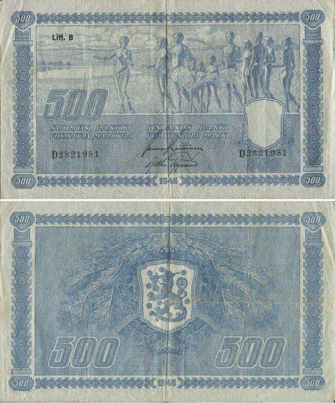 500 марок 1948