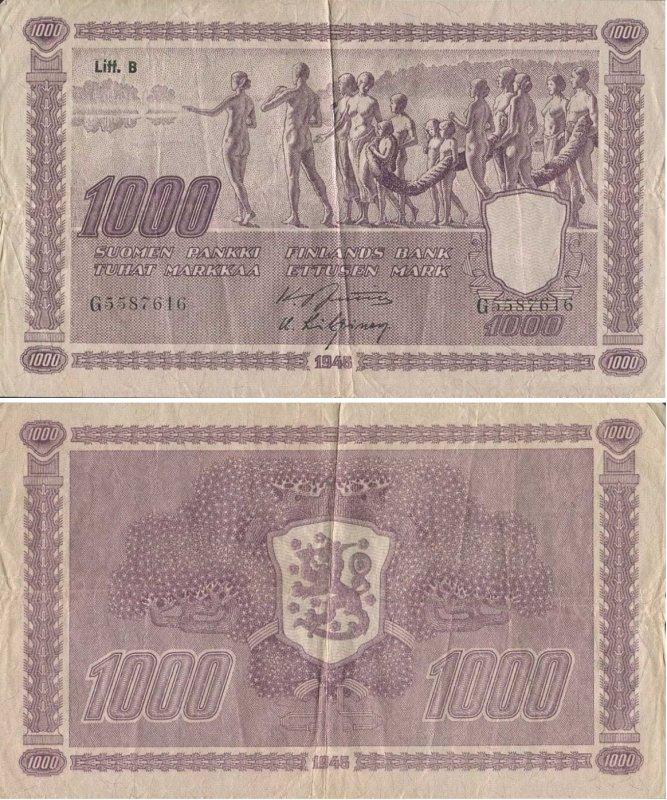 1000 марок 1948