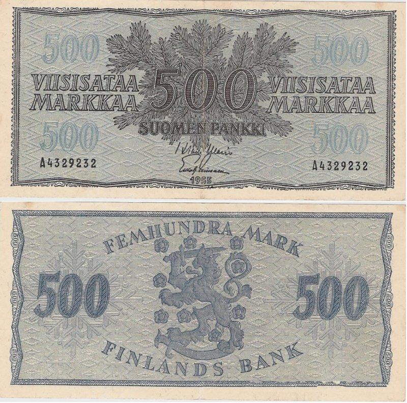 500 марок 1955