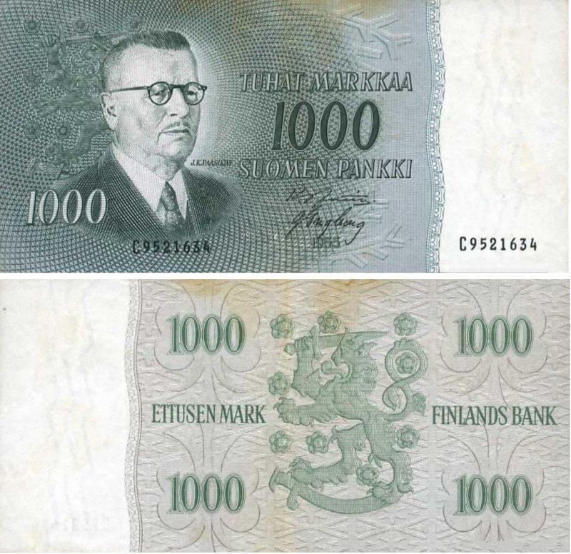 1000 марок 1955