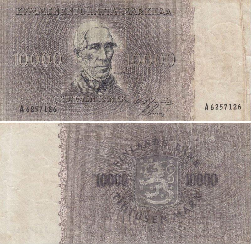 10000 марок 1955