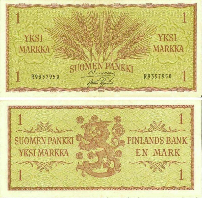 1 марка 1963