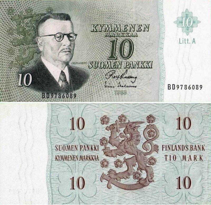 10 марок 1963
