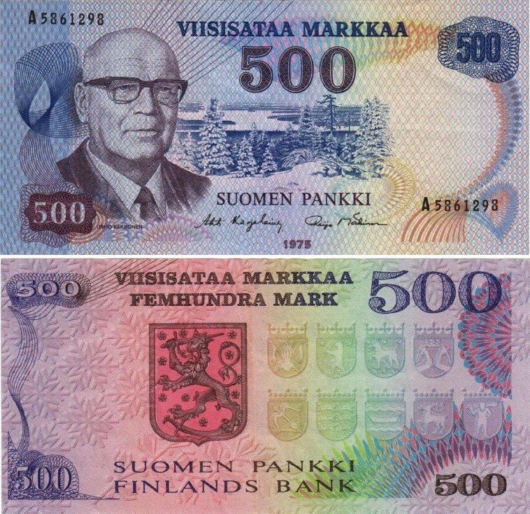 500 марок 1975