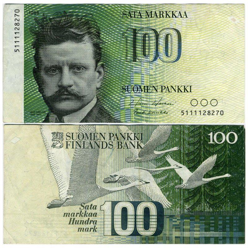 100 марок 1986