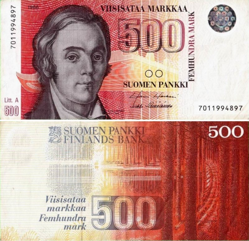 500 марок 1986