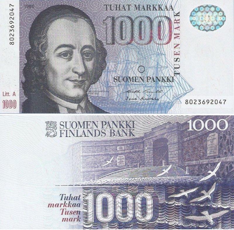 1000 марок 1986