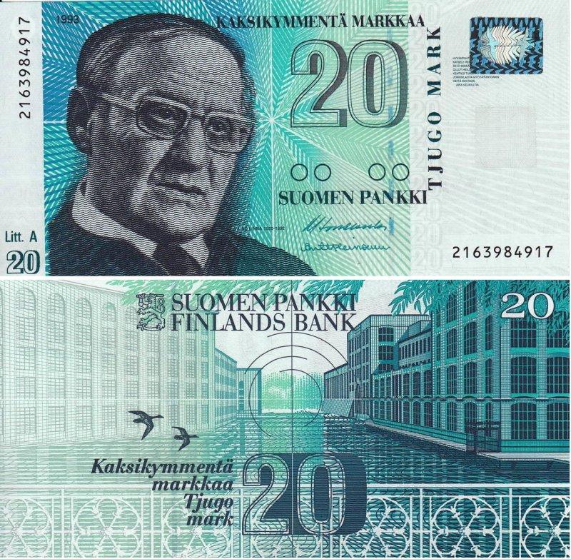 20 марок 1993