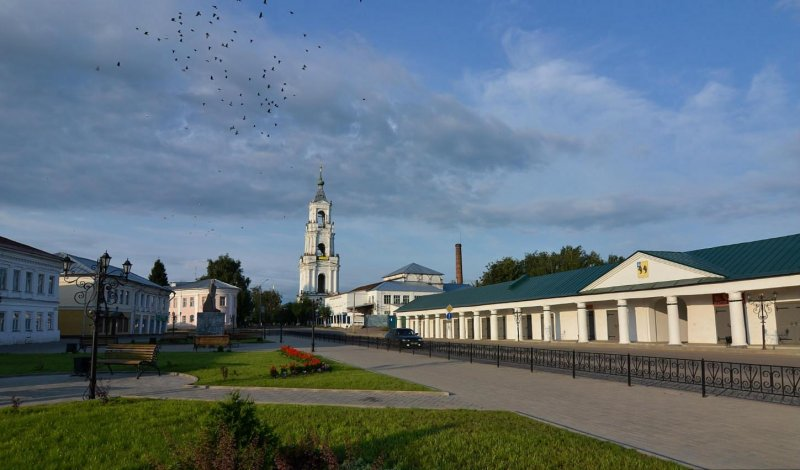 Центр города Нерехта