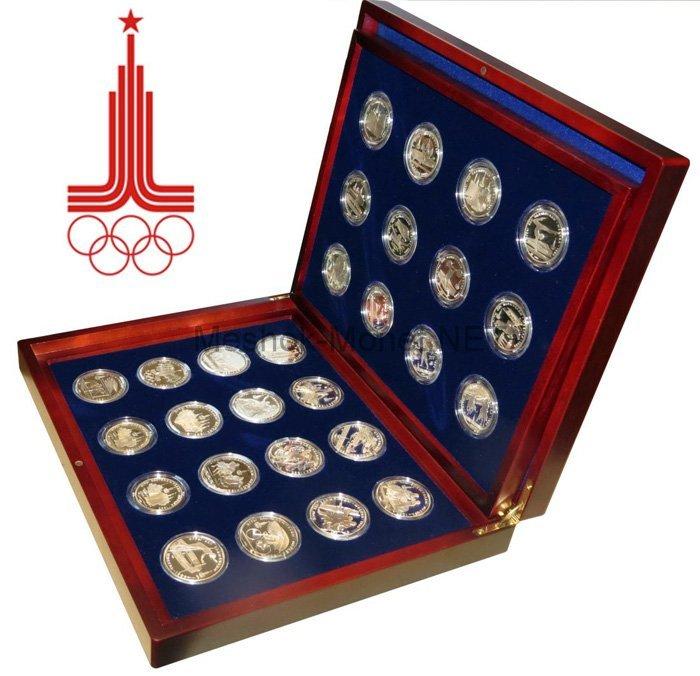 Набор олимпийского серебра